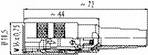 Binder 99-2006-02-03 Rundstecker Kupplung, gerade Serie (Rundsteckverbinder): 581 Gesamtpolzahl: 3 1 St.
