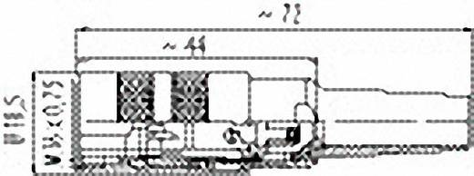Rundstecker Kupplung, gerade Serie (Rundsteckverbinder): 581 Gesamtpolzahl: 3 99-2006-02-03 Binder 1 St.