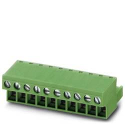 Zásuvkové púzdro na kábel Phoenix Contact MSTB 2,5/ 3-STZ-5,08 BK 1776207, 61.80 mm, pólů 3, rozteč 5.08 mm, 50 ks