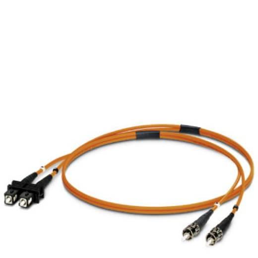 Glasfaser LWL Anschlusskabel [1x SC-Stecker - 1x ST-Stecker] 50/125µ Multimode OM2 2 m Phoenix Contact