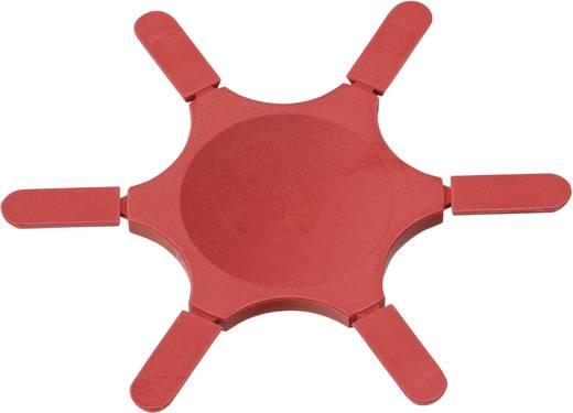 Kodierstern Rot PTR Passend zu Steckverbinder-Serien 1550 und 950