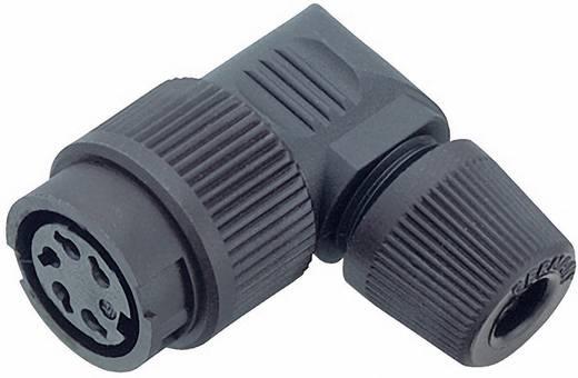 Miniatur-Rundsteckverbinder Serie 678 Pole: 8 Kabeldose, gewinkelt 5 A 99-0646-70-08 Binder 1 St.