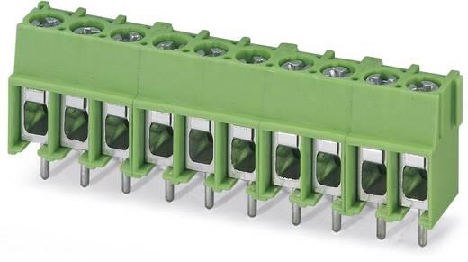 Schraubklemmblock 4.00 mm² Polzahl 6 PT 2,5/ 6-5,0-H Phoenix Contact Grün 100 St.