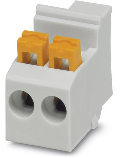 Phoenix Contact MKDSO 2,5/ 3-R GY ANGEZ.SCHR. Schraubklemmblock 2.50 mm² Polzahl 3 Grau 50 St.