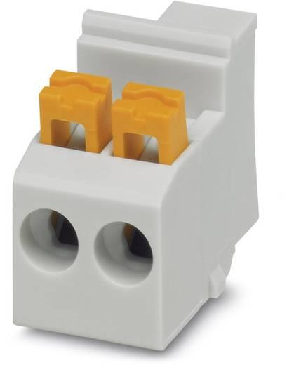 Schraubklemmblock 2.50 mm² Polzahl 2 MKDSO 2,5/2-L GY ANGEZ.SCHR. Phoenix Contact Grau 50 St.