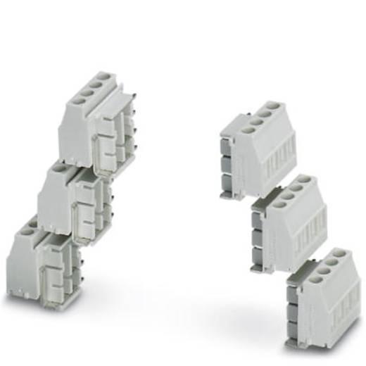 Schraubklemmblock 2.50 mm² Polzahl 4 MKDSO 2,5/4-6 SET KMGY Phoenix Contact Grau 1 St.