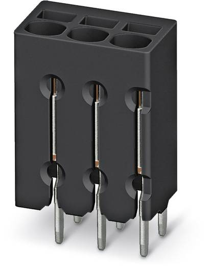 Federkraftklemmblock 0.50 mm² Polzahl 4 PTSM 0,5/ 4-2,5-V THR R44 Phoenix Contact Schwarz 310 St.