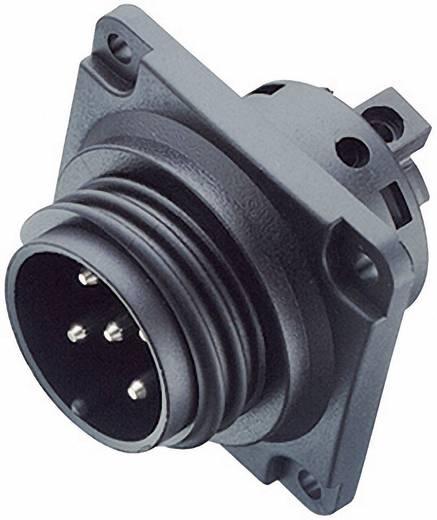 Leistungs-Einbausteckverbinder Serie 694 Pole: 12+PE Flanschstecker 6 A 99-000-13 Binder 1 St.