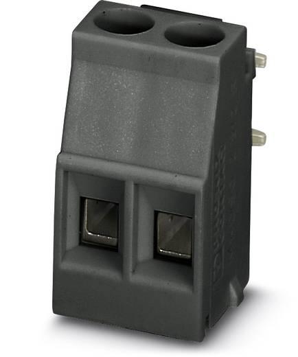 Schraubklemmblock 2.50 mm² Polzahl 2 MKDSO 2,5/ 2-R BK VPE200 Phoenix Contact Schwarz 200 St.