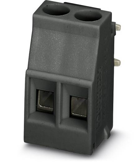 Schraubklemmblock 2.50 mm² Polzahl 2 MKDSO 2,5/2-R BK VPE200 Phoenix Contact Schwarz 200 St.