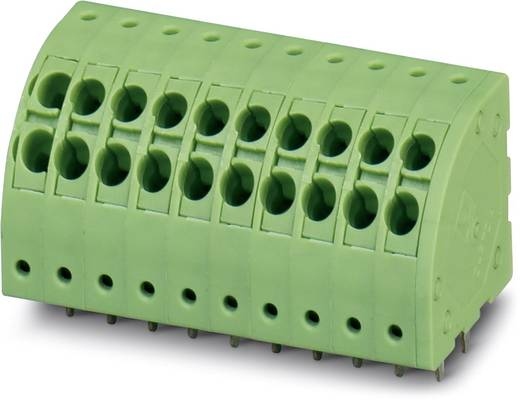 Federkraftklemmblock 1.50 mm² Polzahl 3 PTDA 1.5 / 3-3.5 Phoenix Contact Grün 50 St.