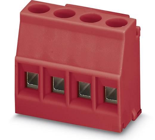 Schraubklemmblock 2.50 mm² Polzahl 4 MKDSO 2,5/ 4-L RD Phoenix Contact Rot 50 St.