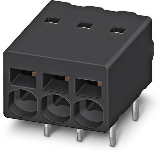 Federkraftklemmblock 0.50 mm² Polzahl 2 PTSM 0,5/ 2-2,5-H THR R24 Phoenix Contact Black 530 St.