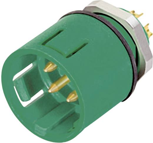 Miniatur-Rundsteckverbinder mit Farbcodierung Serie 720 Pole: 8 Flanschstecker 2 A 99-9127-70-08 Binder 1 St.