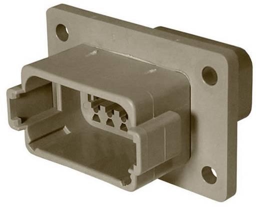 Steckverbinder DT-Serie Pole: 12 Buchsengehäuse mit Flansch 13 A DT04-12PA-L012 TE Connectivity 1 St.