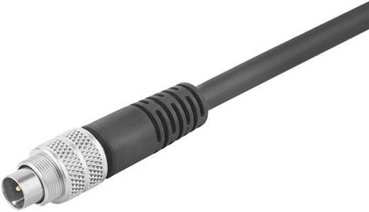 Subminiatursteckverbinder Serie 702 Pole: 7 Kabelstecker umspritzt, geschirmt 1 A 79-1421-12-07 Binder 1 St.
