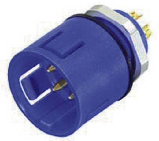 Miniatur-Rundsteckverbinder mit Farbcodierung Serie 720 Pole: 3 Flanschstecker 7 A 99-9107-60-03 Binder 1 St.