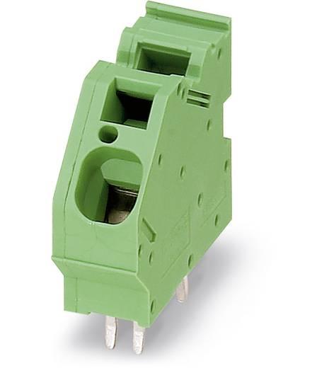 Federkraftklemmblock 16.00 mm² Polzahl 1 ZFKDS 10-10,00 Phoenix Contact Grün 50 St.