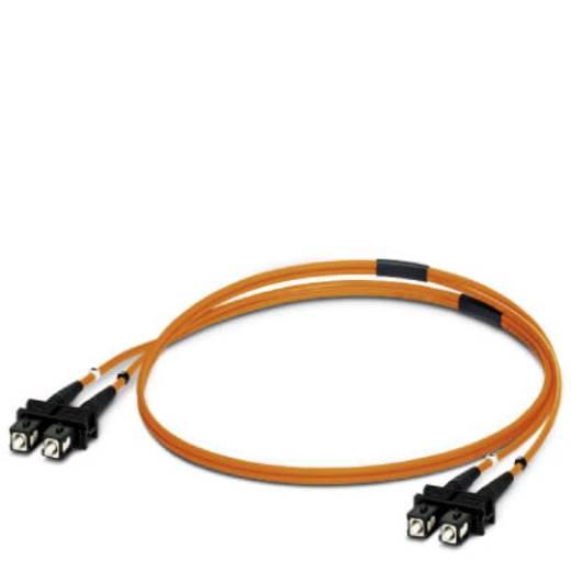 Phoenix Contact Glasfaser LWL Anschlusskabel [1x SC-Stecker - 1x SC-Stecker] 50/125 µ Multimode OM2 5 m