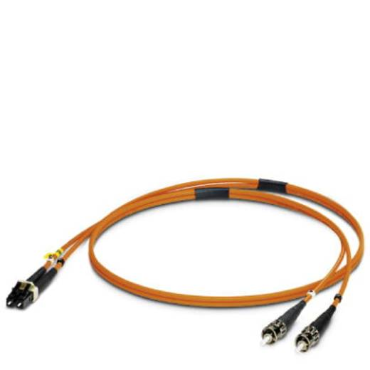 Phoenix Contact Glasfaser LWL Anschlusskabel [1x LC-Stecker - 1x ST-Stecker] 50/125 µ Multimode OM2 1 m