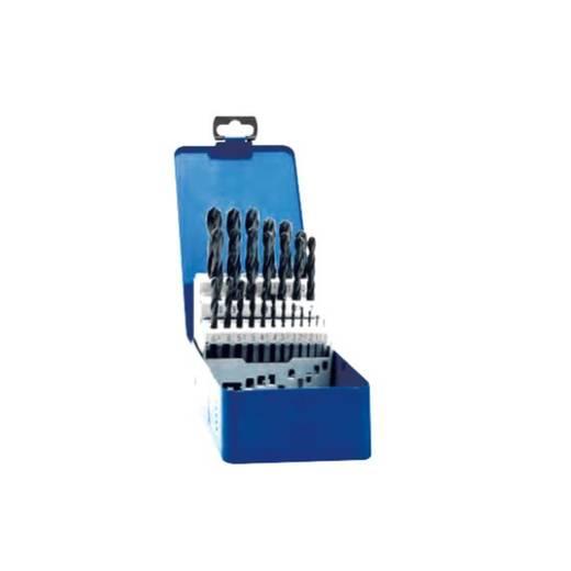 Exact 32002 HSS Metall-Spiralbohrer-Set 25teilig geschliffen DIN 338 Zylinderschaft 1 Set