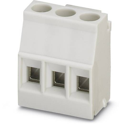 Schraubklemmblock 2.50 mm² Polzahl 3 MKDSO 2,5/ 3-L KMGY Phoenix Contact Grau 250 St.