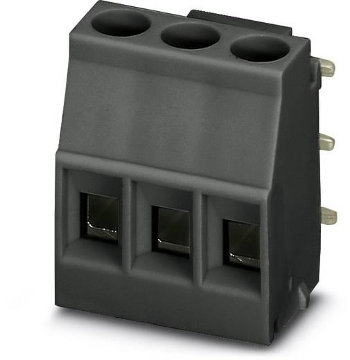 Schraubklemmblock 2.50 mm² Polzahl 3 MKDSO 2,5/ 3-R BK Phoenix Contact Schwarz 50 St.