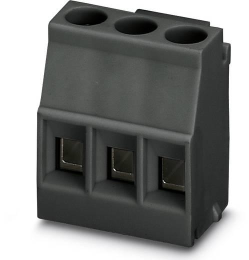 Schraubklemmblock 2.50 mm² Polzahl 3 MKDSO 2,5/ 3-L BK Phoenix Contact Schwarz 50 St.