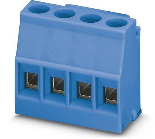Schraubklemmblock 2.50 mm² Polzahl 4 MKDSO 2,5/ 4-L BU Phoenix Contact Blau 50 St.