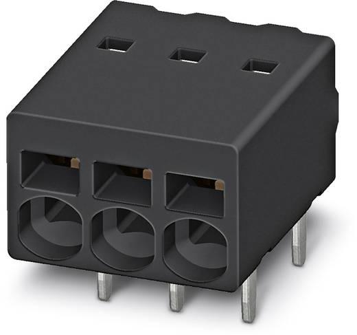 Federkraftklemmblock 0.50 mm² Polzahl 8 PTSM 0,5 / 8-2,5-H THR R32 Phoenix Contact Schwarz 530 St.