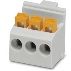 Zásuvkové púzdro na kábel Phoenix Contact FKDSO 2,5/ 3-L KMGY 2200318, 18.80 mm, pólů 3, rozteč 5 mm, 50 ks