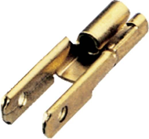 Schlegel FD2,8 Flachsteckverteiler Steckbreite: 2.8 mm Steckdicke: 0.8 mm 180 ° Unisoliert Metall 1 St.