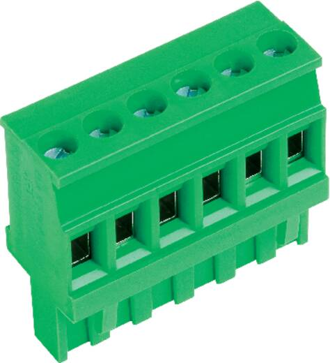 Buchsengehäuse-Kabel AK(Z)1100 Polzahl Gesamt 10 PTR 51100100021D Rastermaß: 5 mm 1 St.