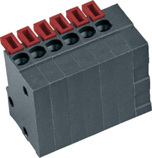 PTR AKZ4791/4KD-2.54-V Federkraftklemmblock 0.75 mm² Polzahl 4 Basaltgrau 1 St.