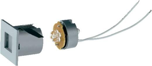 SLV Mini Frame 112711 LED-Einbauleuchte 0.3 W Neutral-Weiß Silber-Grau