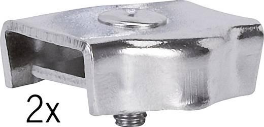 Niedervolt-Seilsystem-Komponente Seilklemme 2er Set Paulmann 978.029 Chrom