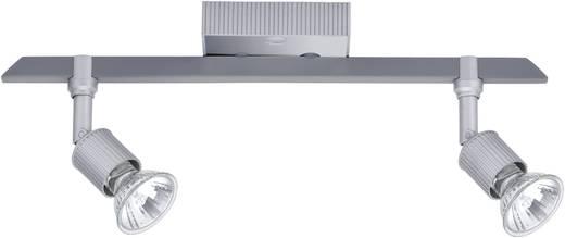 Deckenstrahler Halogen GU10 100 W Paulmann Montana 66225 Silber-Grau