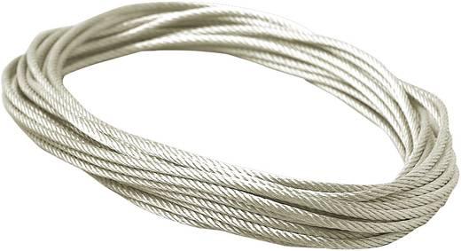 Niedervolt-Seilsystem-Komponente Spannseil Paulmann Spannseil unisol., verzinnt 4 mm 10 m 97905 Transparent, Grau
