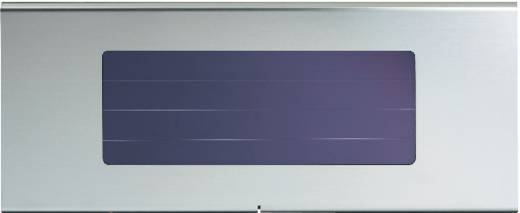Esotec Profi 1 102256 Solar-Außenwandleuchte Tageslicht-Weiß Edelstahl
