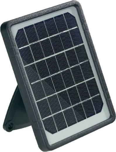 Solar-Außenleuchte mit Bewegungsmelder