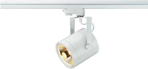 Hochvolt-Schienensystem-Leuchte 3phasig GU10 75 W Halogen, LED SLV Euro Weiß