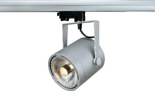Hochvolt-Schienensystem-Leuchte 3phasig GU10 75 W Halogen, LED SLV Euro Silber