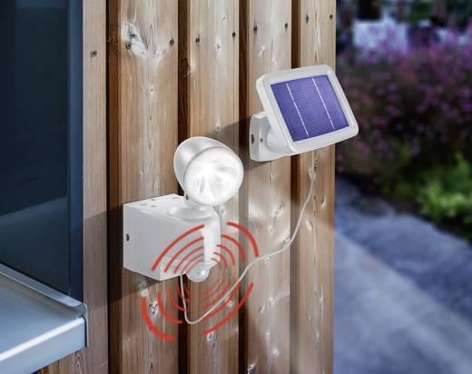Solar-Spot mit Bewegungsmelder Kalt-Weiß Esotec 102410 Power Light Grau
