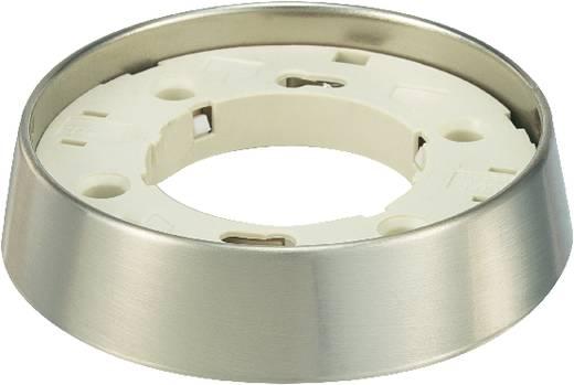 Aufbauleuchte Energiesparlampe GX53 13 W Silber