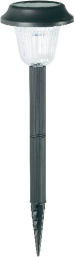 Solar-Gartenleuchte LED Tageslicht-Weiß 572129 Schwarz