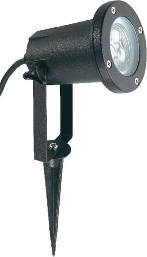 Außenstrahler LED 3 W Kalt-Weiß Outdoor 572167 Schwarz