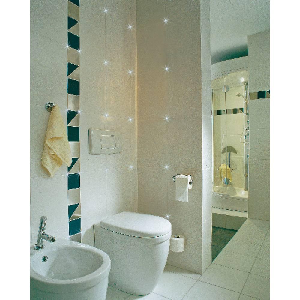 LED bathroom tile lights 4-piece set 1.1 W Daylight white Paulma ...