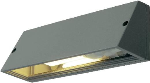 SLV Pema 230034 Außenwandleuchte Energiesparlampe, LED E27 15 W Silber-Grau