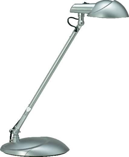 LED-Schreibtischleuchte 7 W Tageslicht-Weiß Maul Storm 8200995 Silber