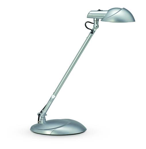 LED-Schreibtischleuchte 7 W Tageslicht-Weiß Maul MAULstorm 8200995 Silber